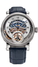 Vanquish Skeleton Tourbillion Remontoire Platinum