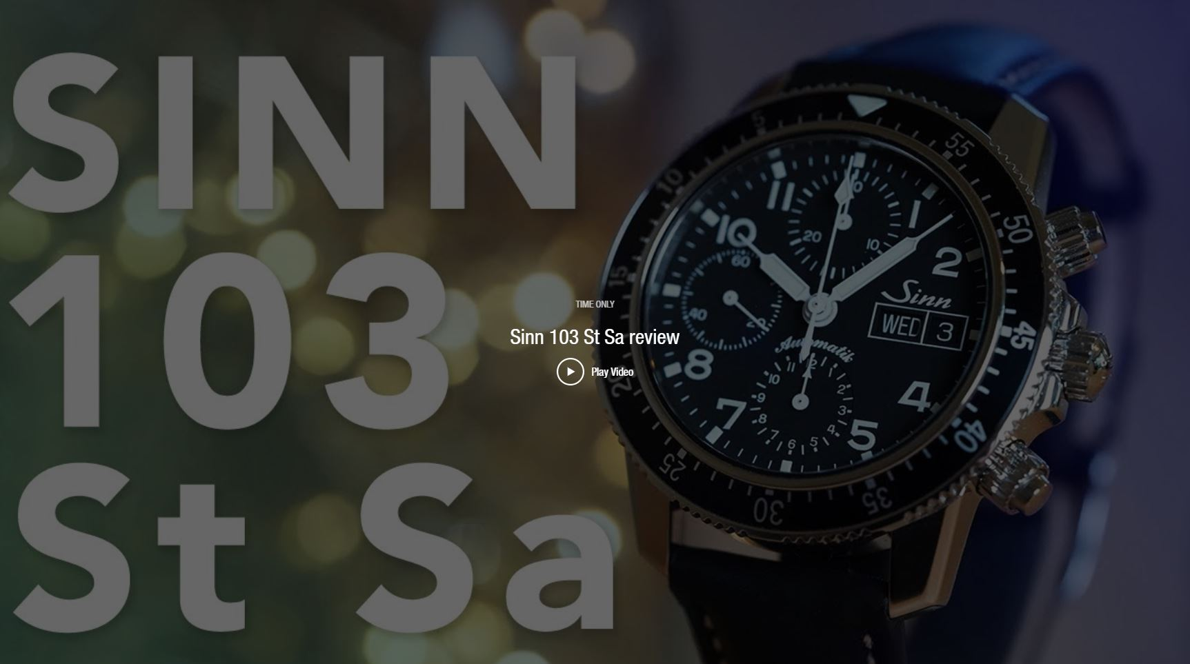 Videos: Sinn 103 St Sa Review