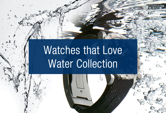 Our Top Picks: Watches that Love Water