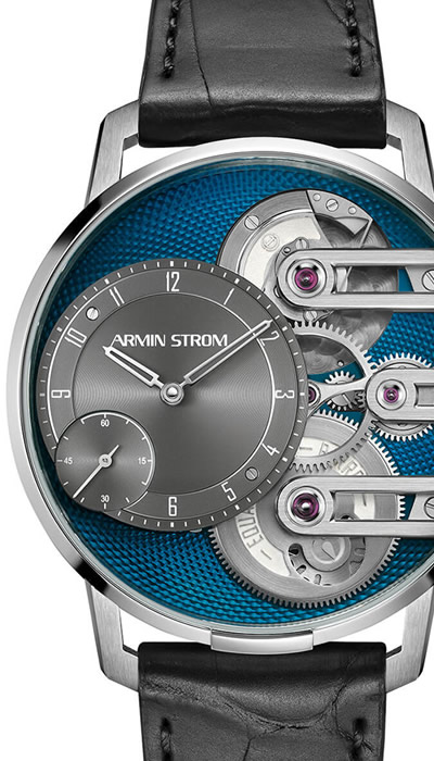Gravity Equal Force - Steel Guilloche