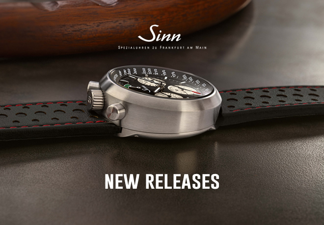 New Releases from Sinn!