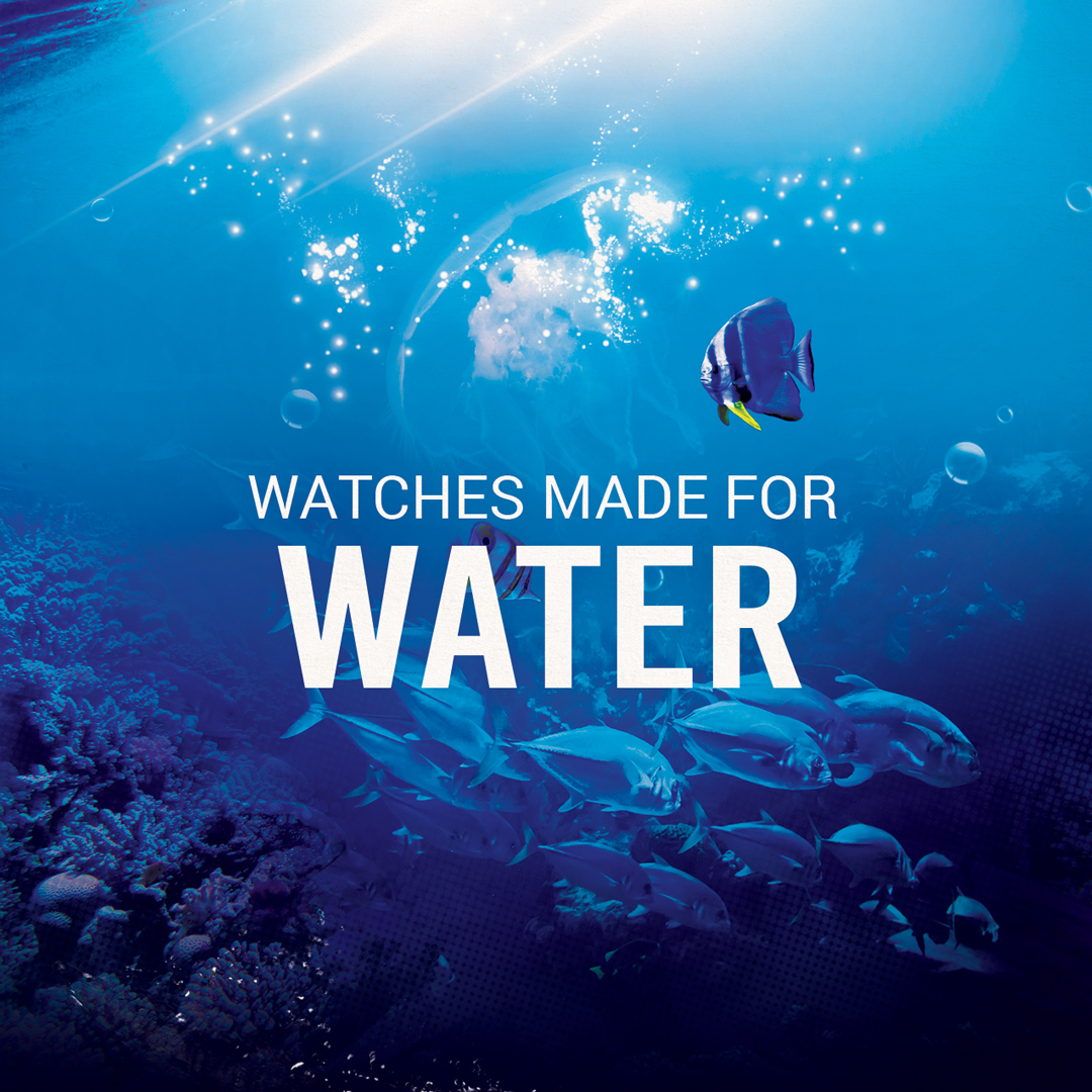 Watches made for water