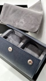 Saffiano Leather 2 watch case