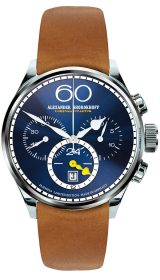 Alexander Shorokhoff VINTAGE 2 - Twenty four Chrono (Night Blue)