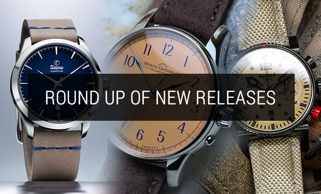 Round up of new releases now at Define Watches