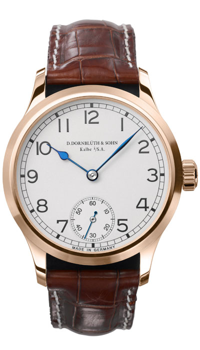 99.0 Rose Gold Silver Dial