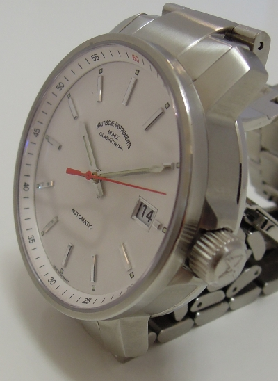 MÜHLE – 29er white dial (steel band) M1-25-21-MB
