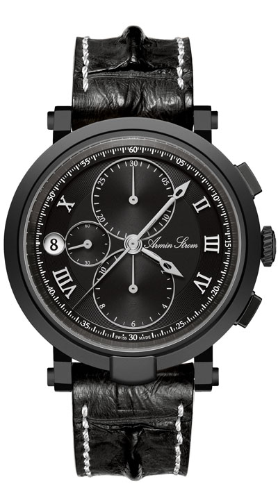 Armin Strom - Blue Chip Chronograph black PVD