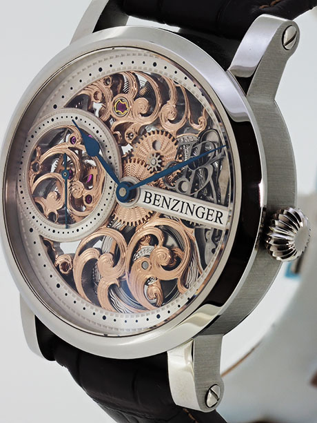 "Benzinger - 3/4 Skeleton Floral ""Define"""