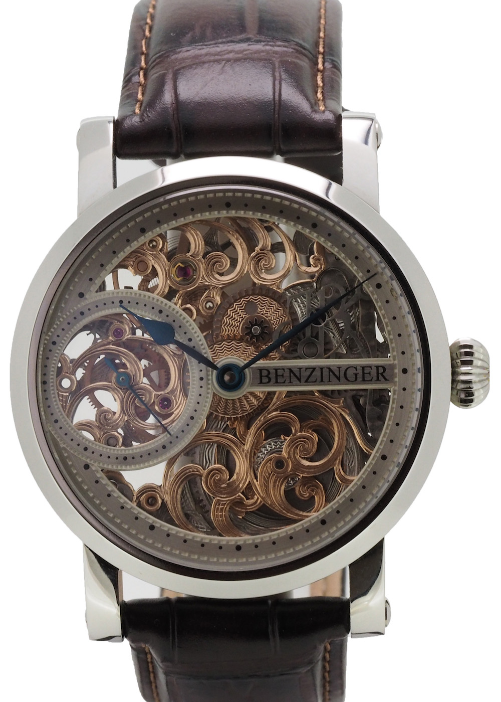 "Benzinger – 3/4 Skeleton Floral ""Define"""