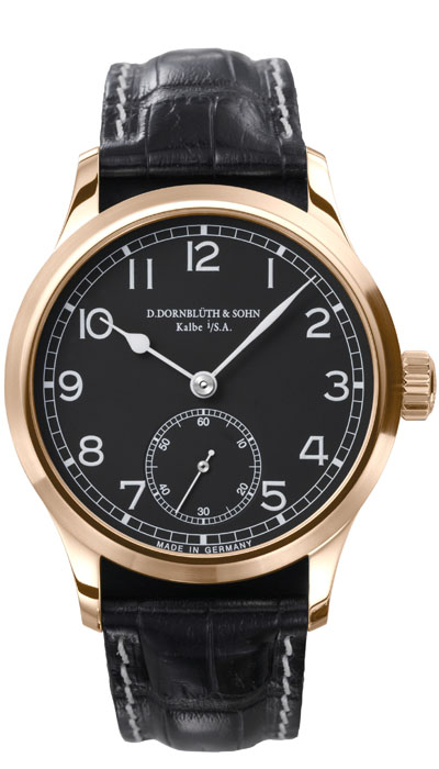 Dornblüth - 99.1 Rose Gold Black Dial