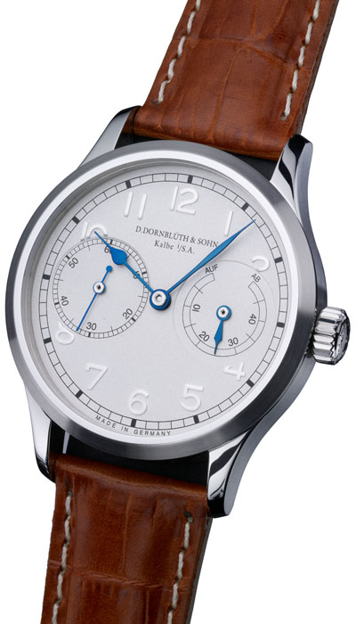 Dornblüth - 99.2 Silver Dial (applied indices)