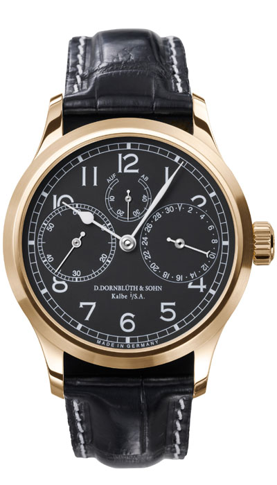 Dornblüth – 99.3 Rose Gold Black Dial