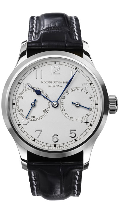 Dornblüth - 99.4 Silver Dial (applied indices)
