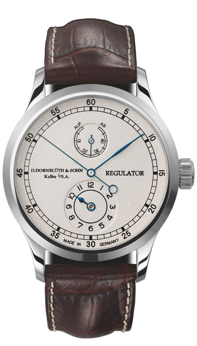 Dornblüth - Regulator Silver Dial