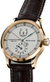 Regulator Rose Gold Silver Dial