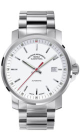 29er Big white dial (steel band) M1-25-31-MB