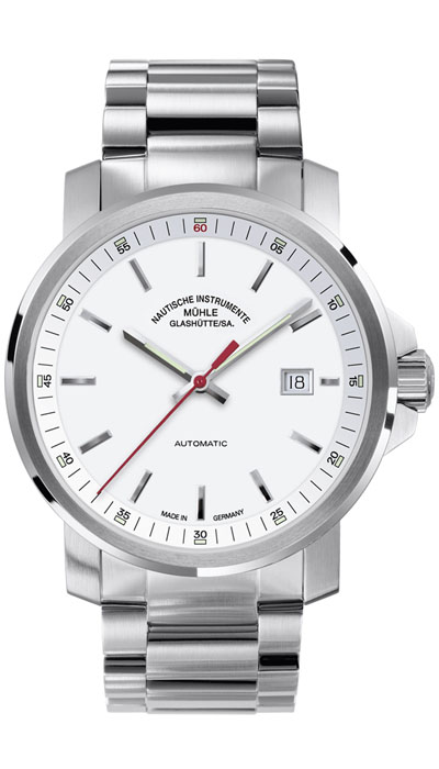 MÜHLE - 29er Big white dial (steel band) M1-25-31-MB