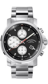 29er Chronograph black dial (steel band) M1-25-43-MB