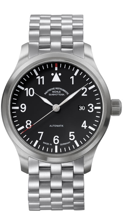 MÜHLE - Terrasport I black dial (steel band) M1-37-34-MB