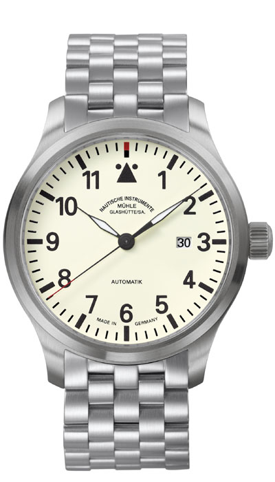 MÜHLE - Terrasport I cream dial (steel band) M1-37-37-MB