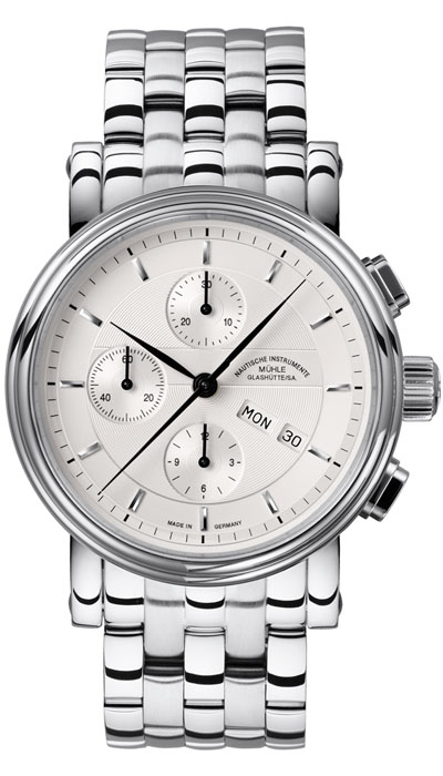 Teutonia II Chronograph (steel band) M1-30-95-MB