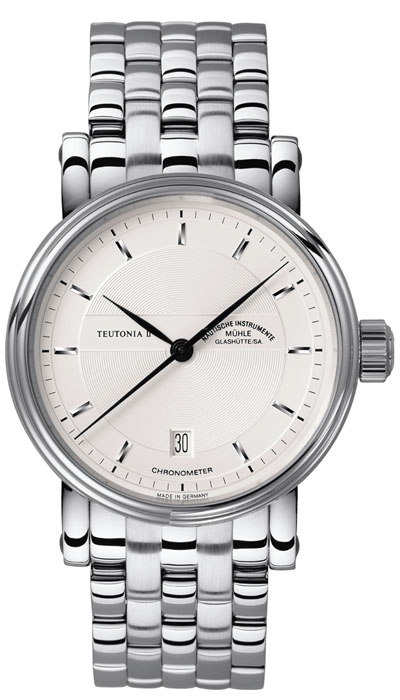 MÜHLE - Teutonia II Chronometer (steel band) M1-30-45-MB