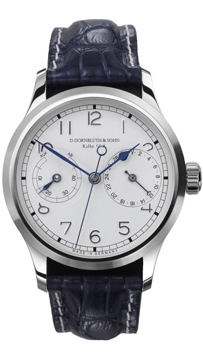 Dornblüth - 99.5 Silver Dial (applied indices)