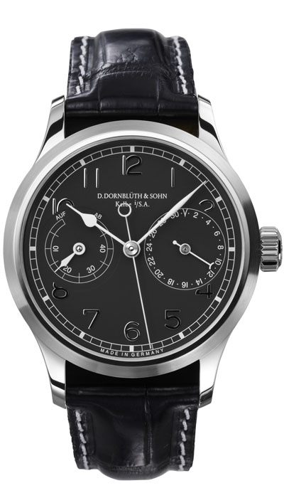 Dornblüth - 99.5 Black Dial (applied indices)