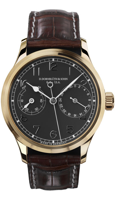 Dornblüth - 99.5 Rose Gold Black Dial (applied indices)