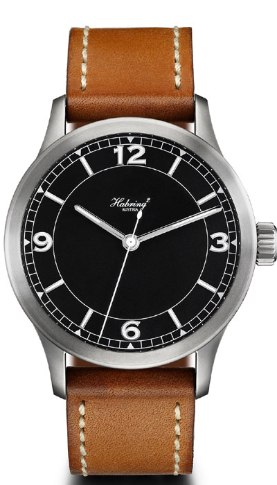 Jumping Second Pilot manual black dial