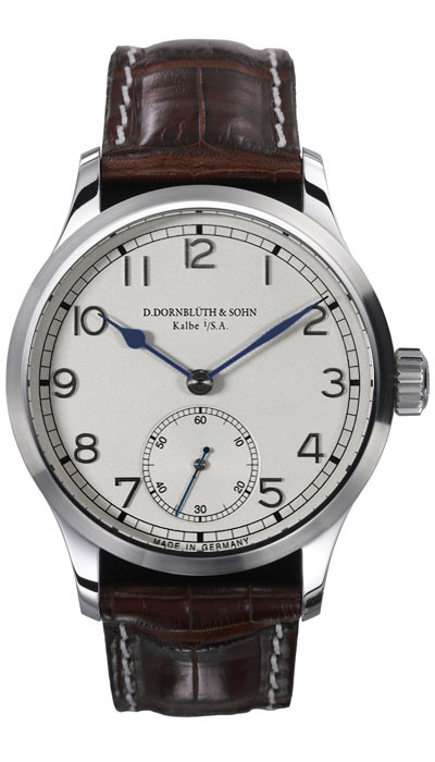 Dornblüth – 99.1 Silver Dial (applied indices)