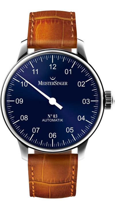 No 03 Blue (AM908), 43mm