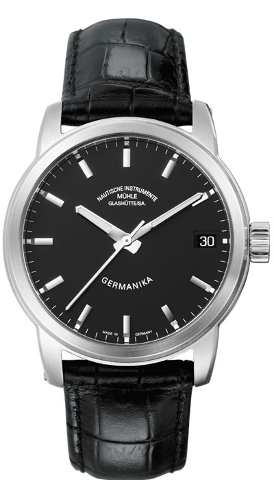 MÜHLE - Germanika IV black dial M1-38-33-LB