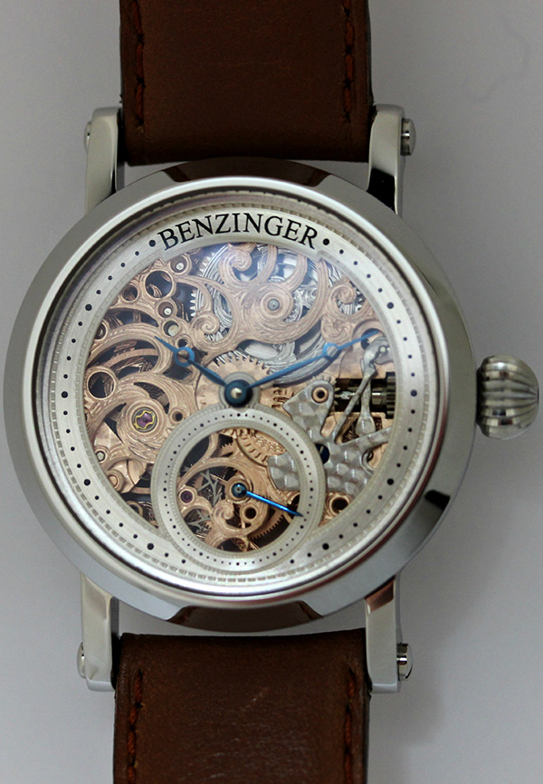 "Benzinger – 3/4 Skeleton Floral ""Define"" small"