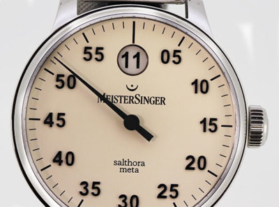 Salthora Meta Jumping Hour - SAM903, 43mm