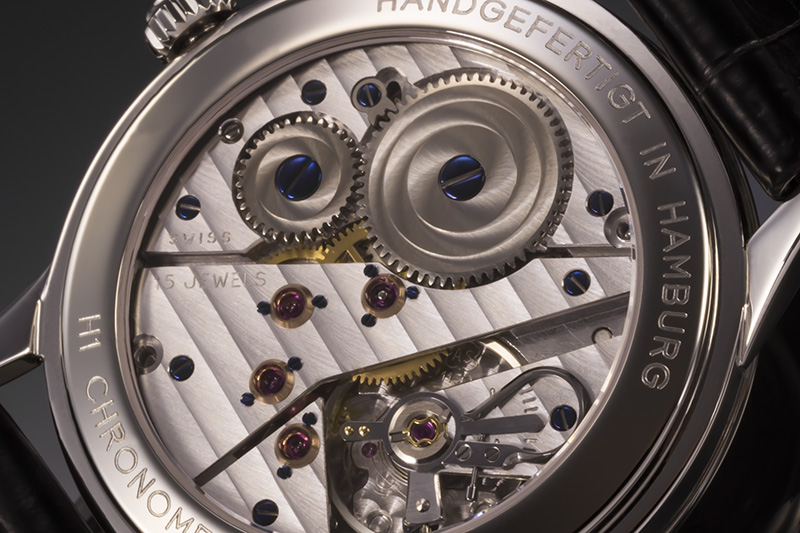 Hentschel – H1 Chronometer White Gold / Steel, 39.5mm