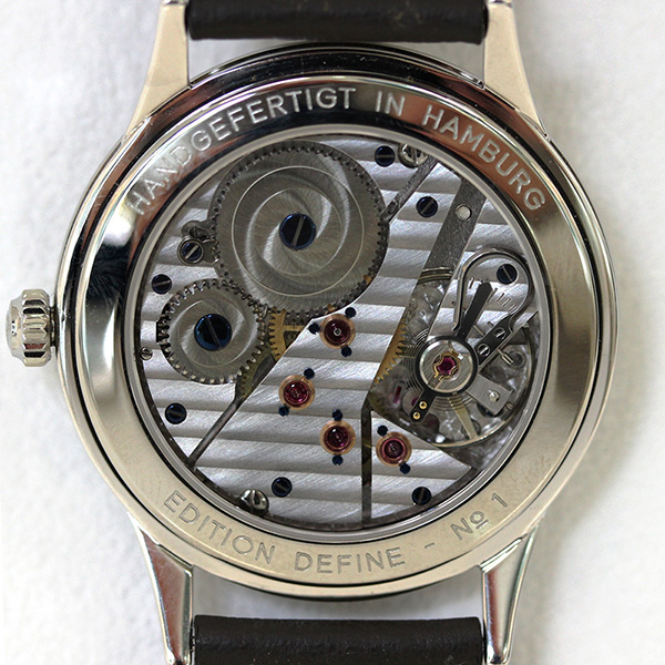 Hentschel - H1 Chronometer White Gold / Steel, 39.5mm