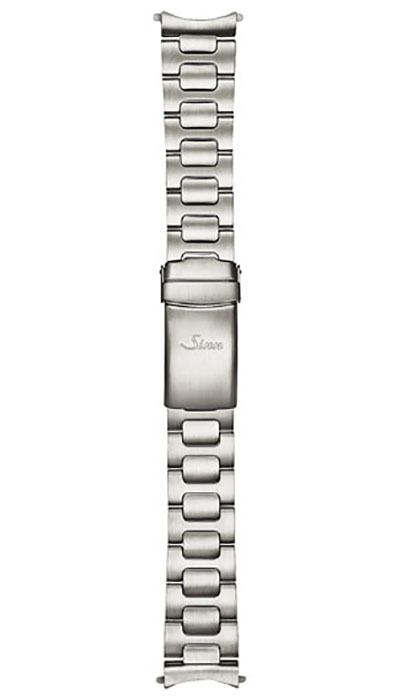 Sinn stainless steel band, two-link, satinised, 20mm (356, 556)