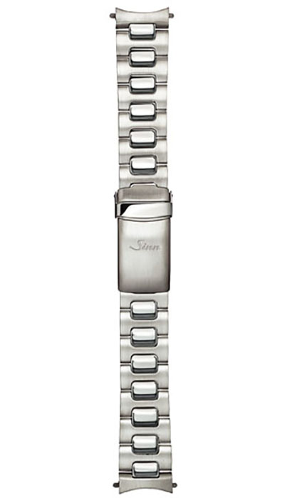Stainless steel band, satinized & polished (103, 104)