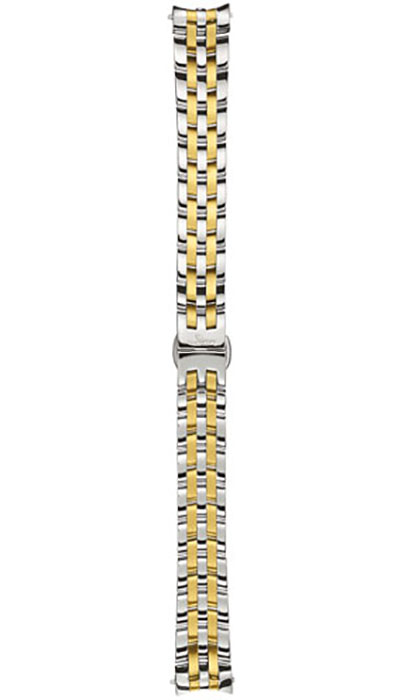 Stainless steel band, polished & gold-plated (456)