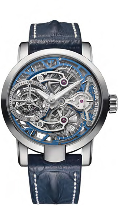 Armin Strom – Tourbillon Skeleton Water