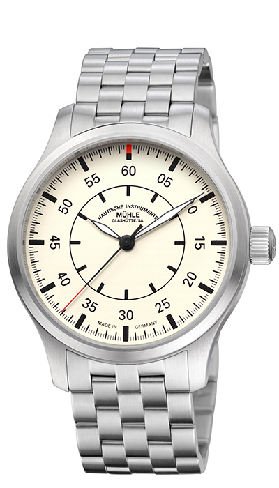 MÜHLE - Terrasport I Beobachter cream dial (steel band) M1-37-37-4-MB