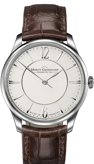 TEFNUT Pure Steel silver dial